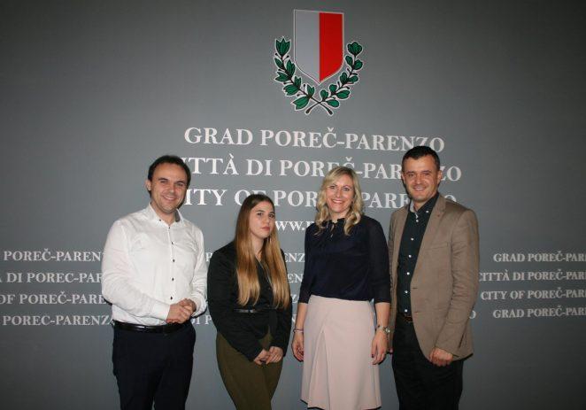 Gradonačelink Peršurić održao prijem za Andreu Ivančić, učenicu TUŠ Antona Štifanića i osvajačicu europske bronce