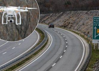 Dronovi će od veljače nadgledati promet na Istarskom ipsilonu