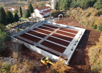 U nedjelju 04. veljače 2018. godine – blagoslov novoizgrađenog dijela Mjesnog groblja u Fuškulinu