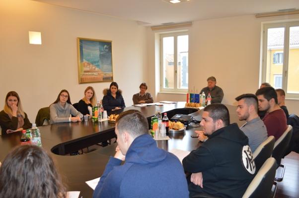 Prijem za studente stipendiste Općine Vrsar-Orsera