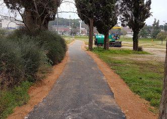 Odvodnja Poreč d.o.o. asfaltirala pješačku stazu kroz Vrtove