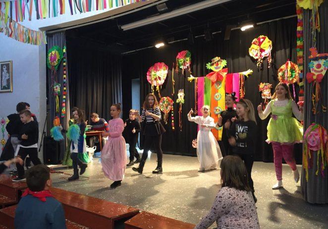Zabava na zadnji dan Pusta za učenike TOŠ-e Bernardo Parentin