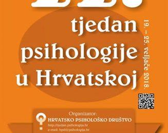 Zdravi grad Poreč najavljuje program 11.Tjedna psihologije