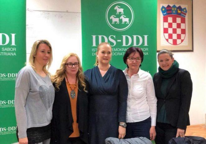Venis Gregurović nova predsjednica Kluba žena IDS-a Poreštine
