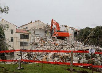 Na mjestu porušenog objekta uredit će se park