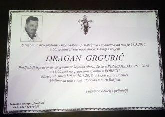 Preminuo Dragan Grgurić, šahist iz Poreča