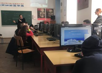 U srednjoj školi Mate Balote u Poreču održana radionica o izradi web stranica