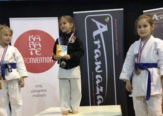 Dvije nove medalje za mlade karatistice Finide