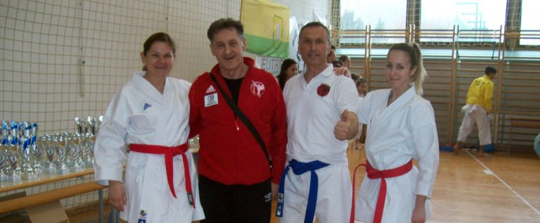 Maja Ružić, trener Mirko Banović, Amir Rešidović i Sanja Bokun