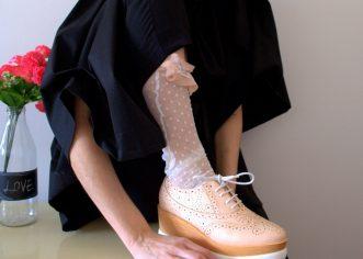 """Limitirana kolekcija čarapica """"B*tchwitze"""" modne dizajnerice Martine Herak"""