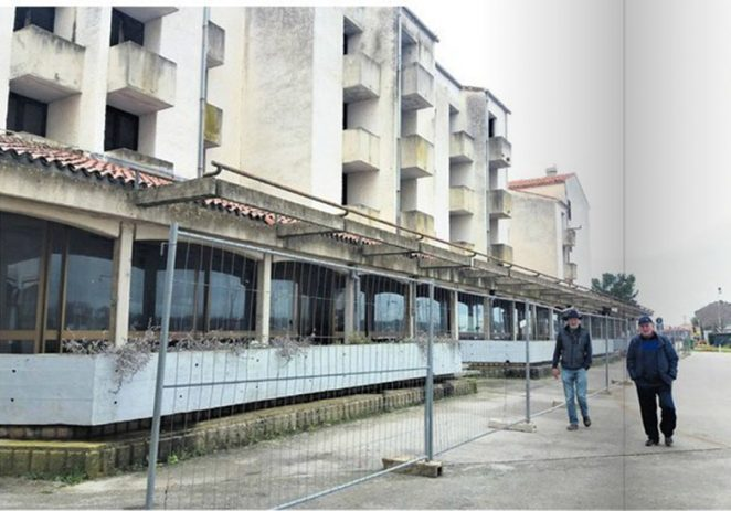 Teška mehanizacija stiže danas u Červar Porat srušiti derutni hotel na samoj rivi