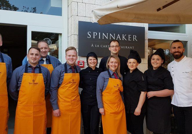 Vrhunski gastronomski doživljaj u znaku pjenušavih vina  Veuve Clicquot u porečkom restoranu Spinnaker