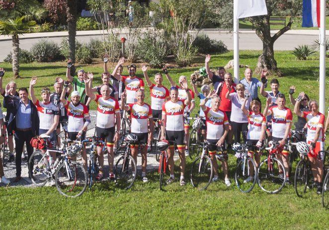 Hotel Valamar Zagreb  ugostio švicarske bicikliste i bivšeg profesionalnog biciklista Marcela Areggera