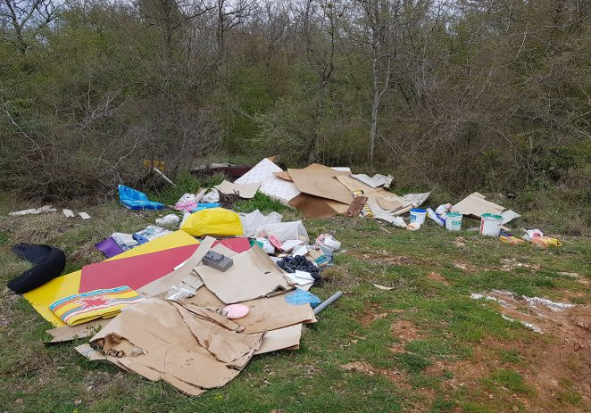 Obavijest o prikupljanju krupnog otpada na području M.O. Veli Maj