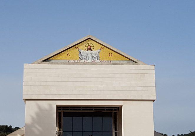 Likovni umjetnik Eugen Varzić osmislio mozaik na novoj crkvi u Korčuli