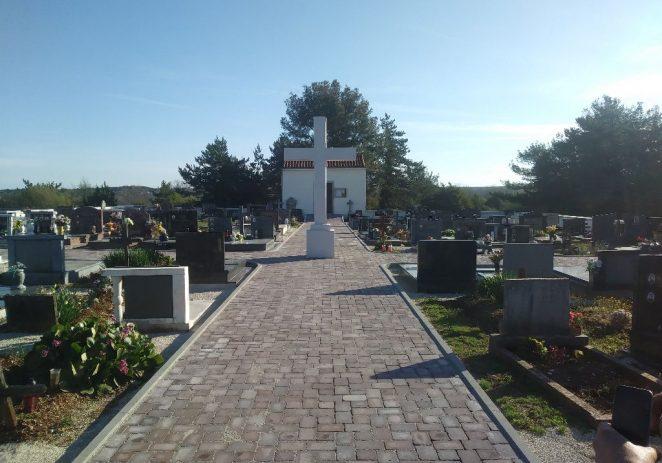 Sanirana i obnovljena mjesna groblja Žbandaj i Baderna