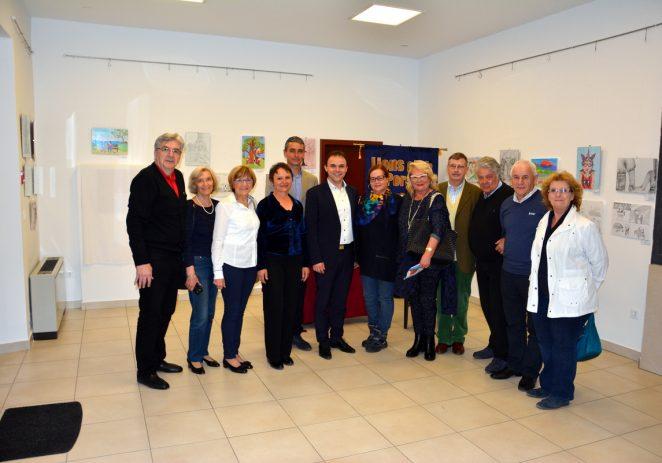U Galiji otvorena Likovna izložba učenika osnovnih i srednjih škola