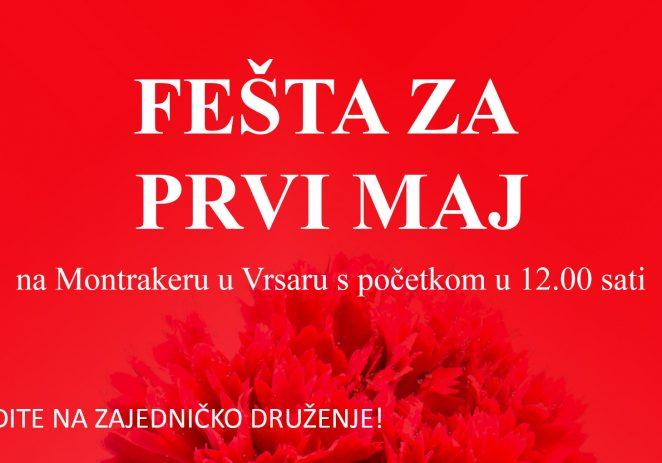 Proslava Praznika rada u Vrsaru uz muziku, sport i druženje