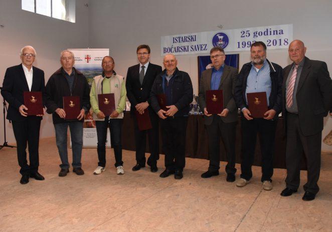 Istarski boćarski savez proslavio 25 godina postojanja