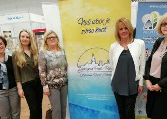 Predstavnici Zdravog grada Poreč na Sajmu zdravlja u Vinkovcima