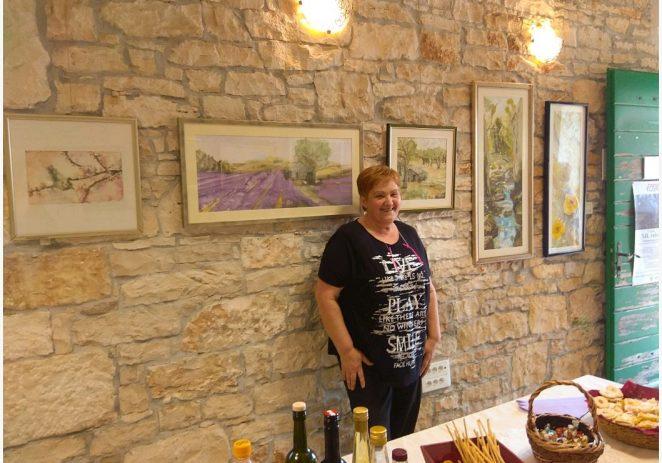 Gracijela Sirotić iz Varvari održala samostalnu izložbu u Tinjanu