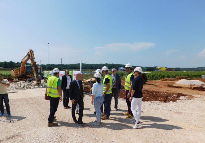 S predstavnicima Hrvatskih voda danas je održan radni sastanak u Odvodnji Poreč