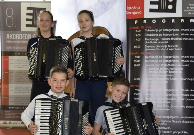 Porečki harmonikaši opet briljirali i osvojili prve nagrade na 9. međunarodnom festivalu harmonike Akordeon Art Plus u Istočnom Sarajevu (BIH)