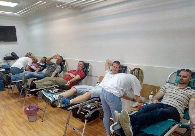 Akcija darivanja krvi s izvrsnim rezultatima