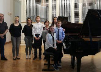 Učenici Umjetničke škole Poreč sudjelovali na Festivalu mladih pijanista u Varaždinu