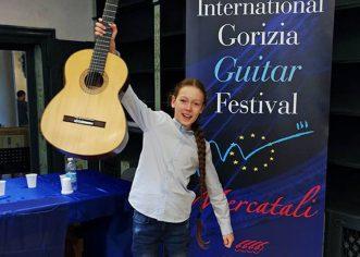 """Marin Štefanac osvojio 1. nagradu i na 15. europskom natjecanju klasične gitare """"Citta di Gorizia"""" u Italiji"""