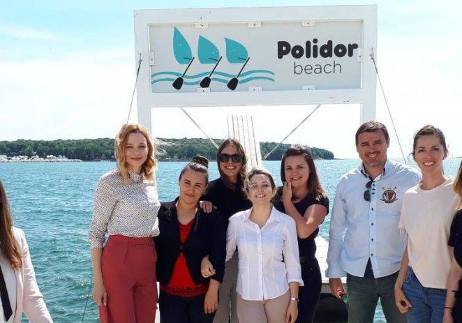 Studenti  Kulture i turizma s Fakulteta za interdisciplinarne, talijanske i kulturološke studije  posjetili obiteljski kamp Polidor u Funtani