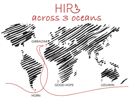 Legendarna jedrilica HIR3 kreće iz Poreča u nedjelju, 10. lipnja u 11 sati na još jedan put oko Svijeta !