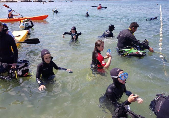 III. Međunarodna dječja ronilačka eko-patrola u Savudriji (Djeca iz Hrvatske i Slovenije čiste Piranski zaljev)