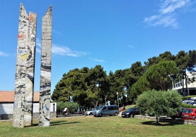 Vrijedni obelisci Eda Murtića već godinama rapidno propadaju