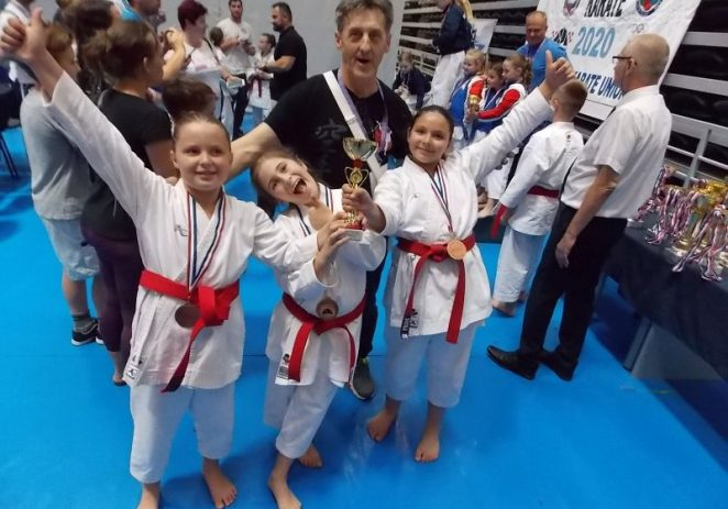 Karate: Odličan uspjeh katašica Finide potvrda njihove kvalitete i dobrog rada u klubu