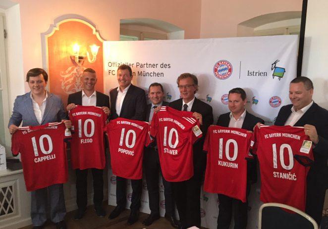 Potpisan trogodišnji ugovor između FC Bayern München i  Istre