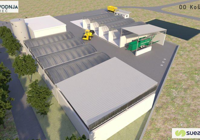 Izdana građevinska dozvola za izgradnju postrojenja za kompostiranje mulja