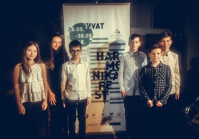 Porečki harmonikaši ponovno osvojili i potrvdili prve nagrade na 8. Međunarodnom festivalu harmonike u Tivtu