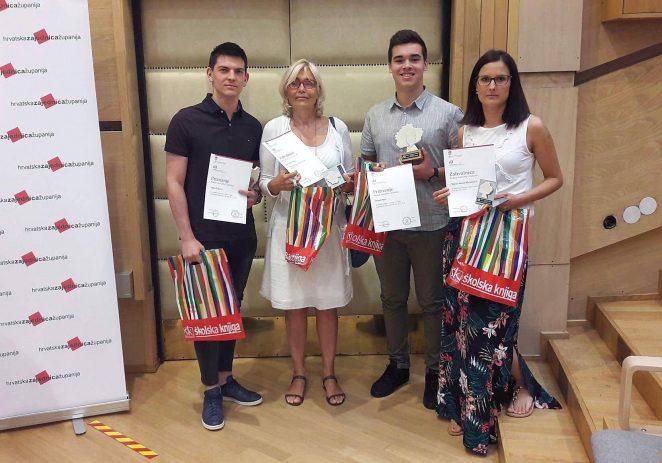 Učenici SŠ Mate Balote na dodjeli priznanja i Oskara znanja