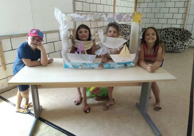 Prva smjena Zabavne ljetne baze zaključena feštom s roditeljima