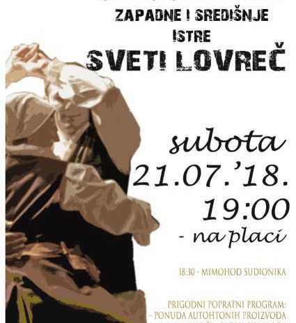 39. Smotra narodne glazbe i plesa zapadne i središnje Istre