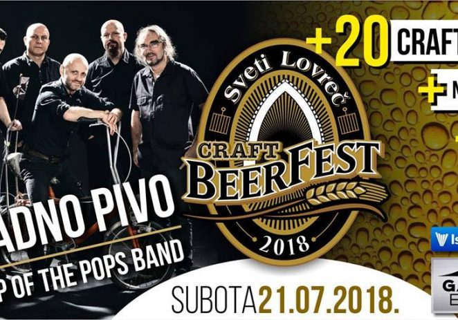 Craft Beerfest – nogometno igralište u Sv. Lovreču u subotu 21.07.2018 !