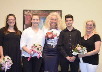 U koncertnoj dvorani Umjetničke škole Poreč održan Koncert učenika završnog razreda harmonike