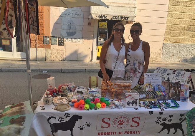 Udruga SOS Šape Poreč prikupila tri tisuće kuna kojima pomaže i Udruzi HappyEnd Pazin i Farmici iz Našica!!!