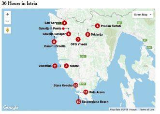 The New York Times:  36 Hours in Istria / 36 sati u Istri
