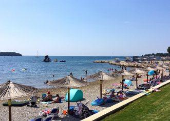 Na svim plažama Poreča i Poreštine izvrsna kakvoća mora za kupanje