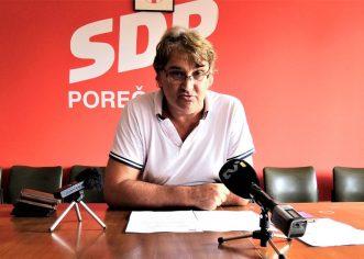 Gradski vijećnik SDP-a Poreč, Goran Gašparac na sjednici Gradskog vijeća o marendama, mjesečnim kartama za učenike…