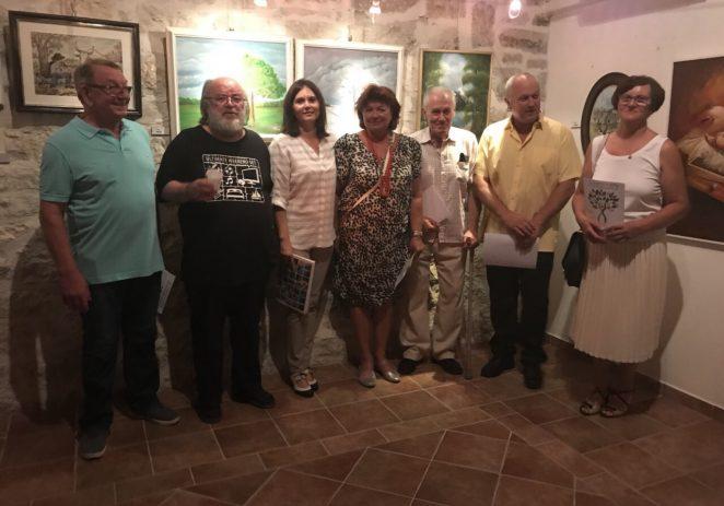 U Funtani je u petak 10. kolovoza svečano otvorena 25. izložba slika i skulptura Naiva u Istri