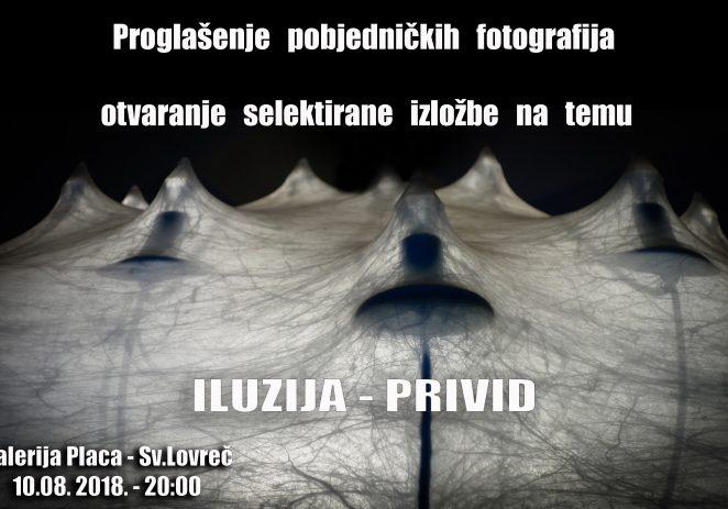Za Dan Općine Sv. Lovreč – proglašenje najboljih fotografija na temu 'PRIVID – ILUZIJA'