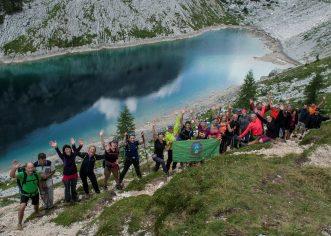 Pazinski planinari u pohodu  triglavskim divokozama :)